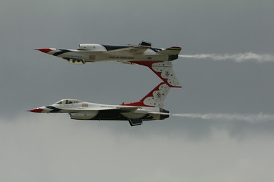 Thunderbird Air Show Stunt