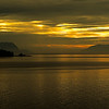 Golden sunset at Inside Passage