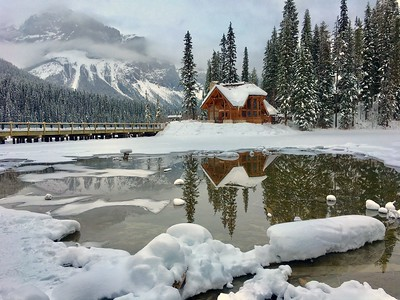Emerald Lake, Yoho National Park, BC