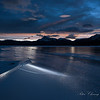 Abraham Lake in Winter, Canadian Rockies