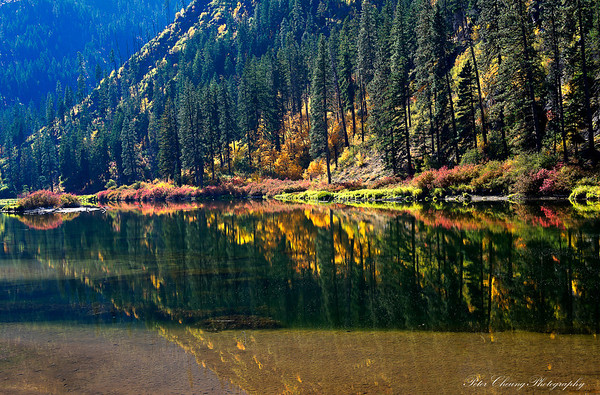 Fall colors in Leavenworth