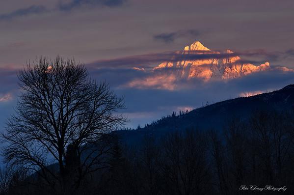 Sunset at Mt. Shuksan