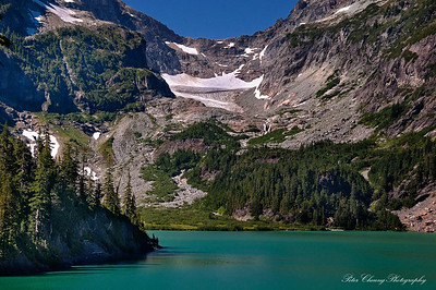 Blanca Lake in Central Cascades