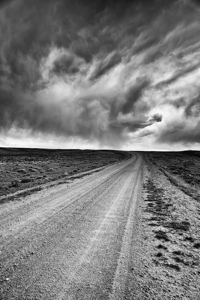 Wyoming Prairie Road. 2013