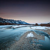 Snake River after Sunset. Jackson Hole, Wyoming. 2015