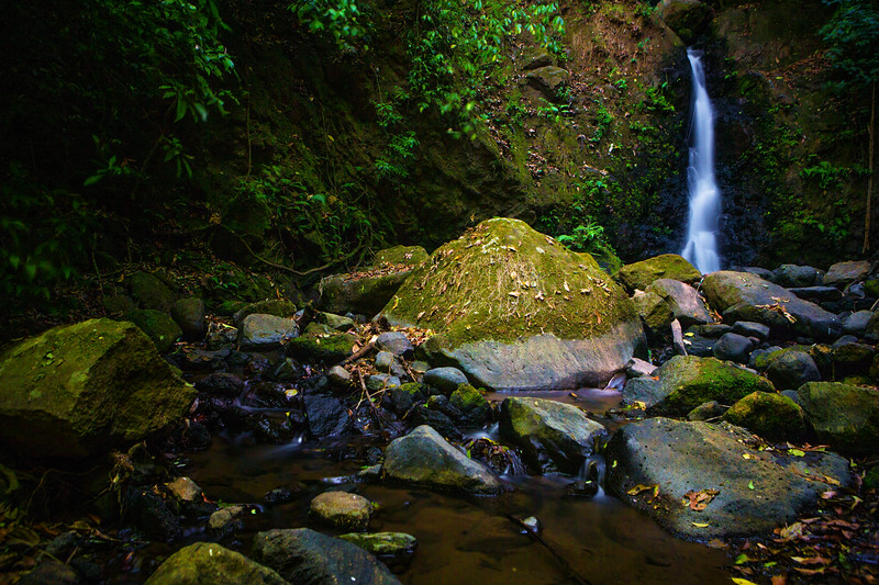 A Waterfall Near San Jose, Costa Rica