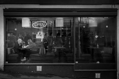 Subway sandwich shop in Stroud, Gloucestershire