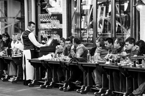 Pavement Cafe, London