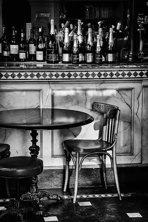 A bar in London