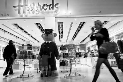 Harrods Duty Free Store, Terminal 4 departure lounge, Heathrow Airport, London