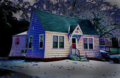 Haunted Time-Warped House