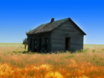 Abandon House on the Prairie