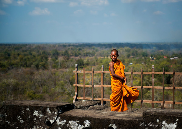 Cambodian Little monk