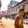 Busy Streets in Bhaktapur, Nepal