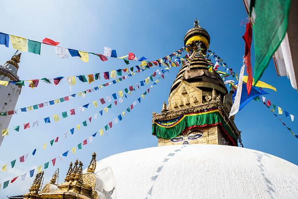 The Monkey Temple, Kathmandu