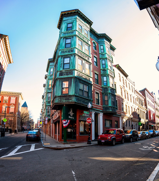 Historic architecture in Boston's North End