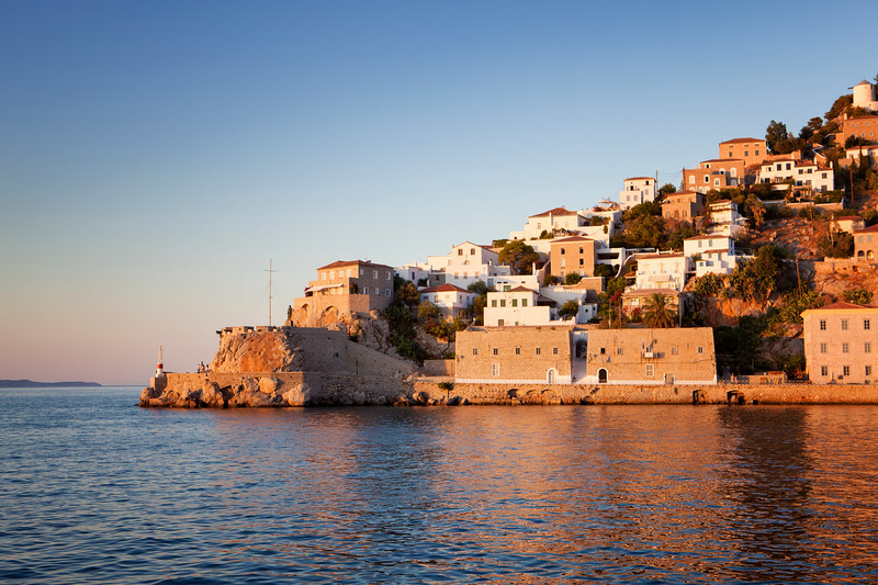 The port of Hydra, Greece