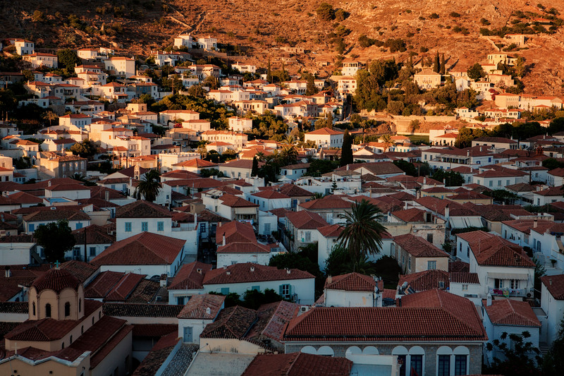 The old town of Hydra, Greece