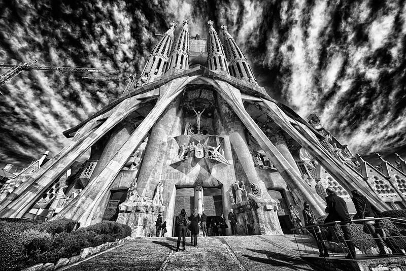 La Sagrada Familia, Barcelona. 2011