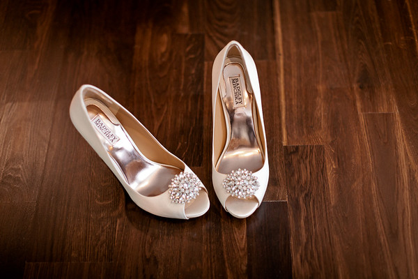 Bridal Shoes on wedding day!