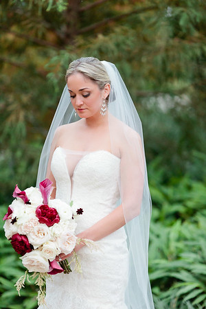 Bridal portrait at the Dunlavy Restaurant and wedding venue in Houston, TX