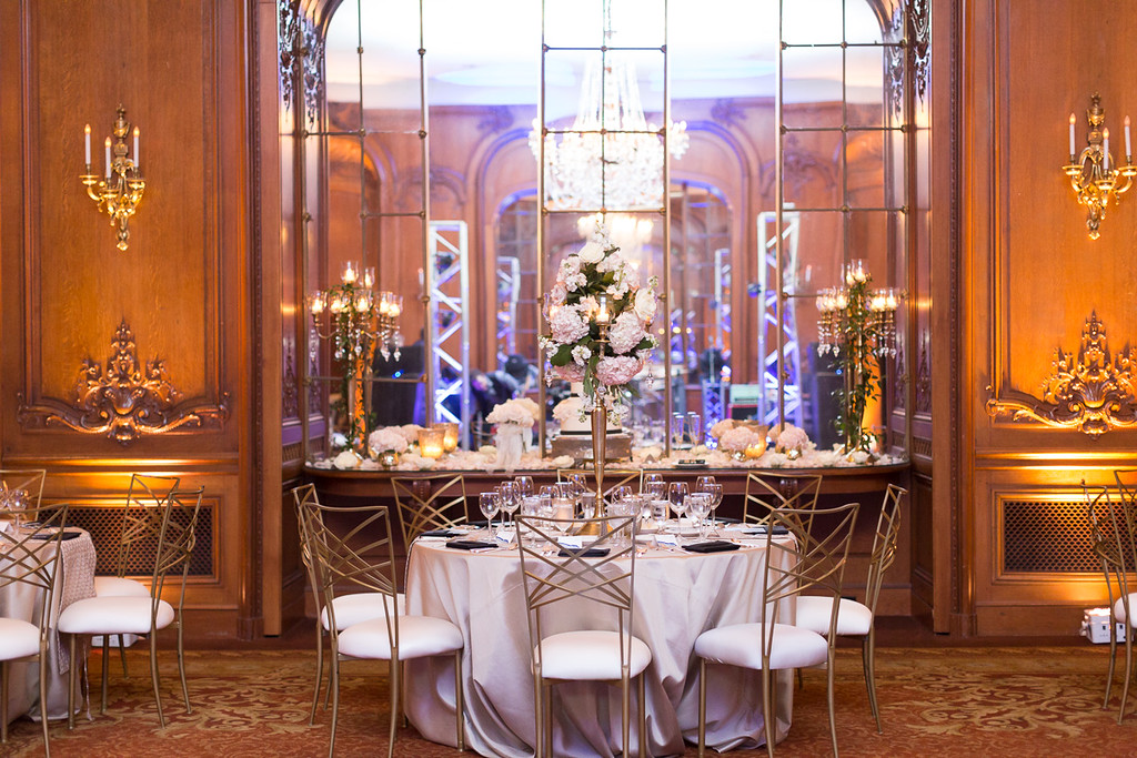 La Colombe D'or in Houston texas - wedding venue reception