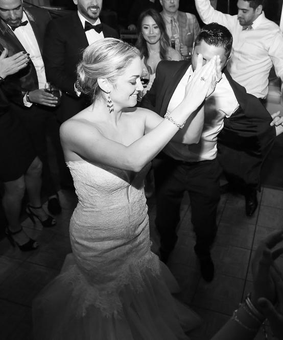 Wedding fun night at reception
