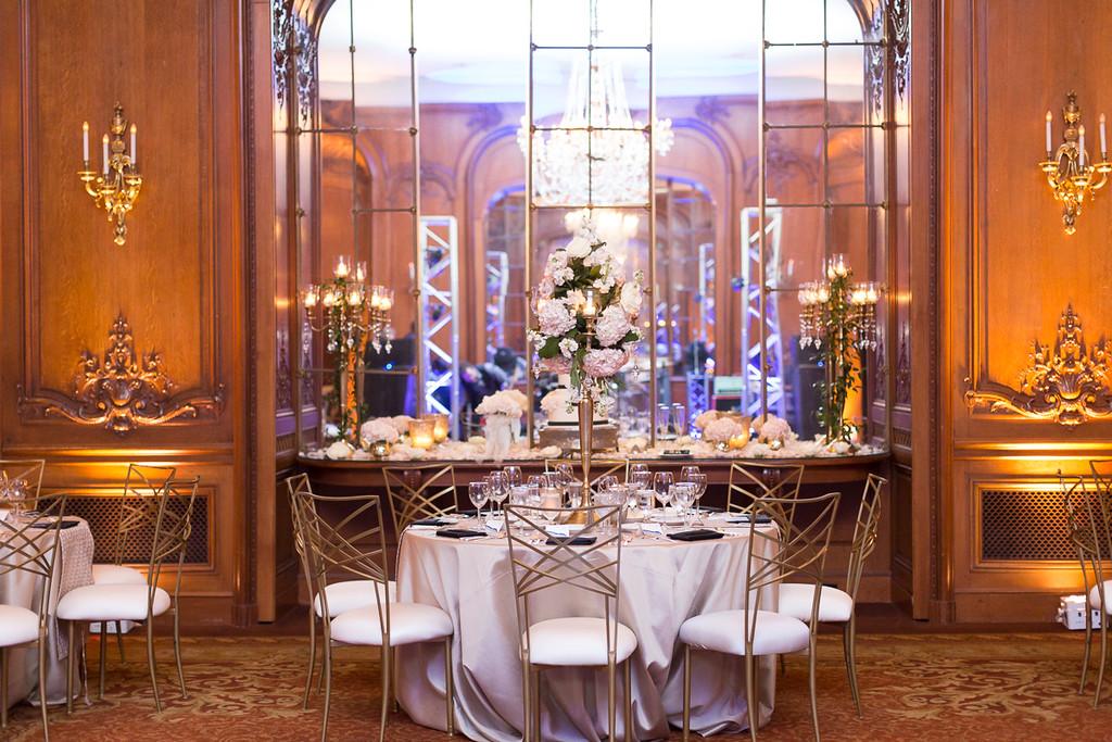 La Colombe D'or in Houston texas - wedding venue reception