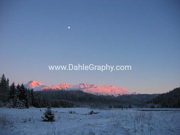 Juneau Winter Scene - #1