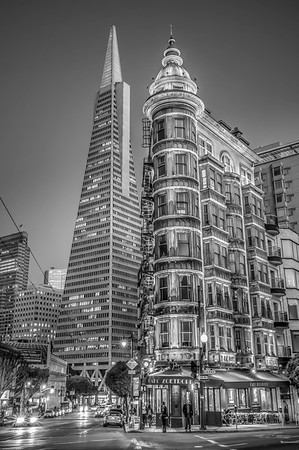 Columbus Tower & Transamerica Building