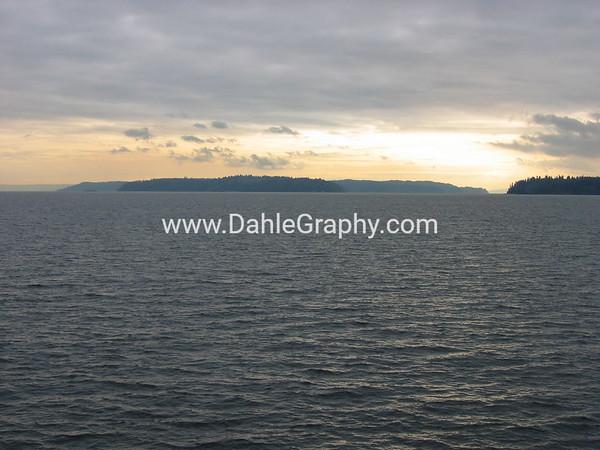 Puget Sound #1 - Sunset