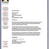 Dan Marino Letter