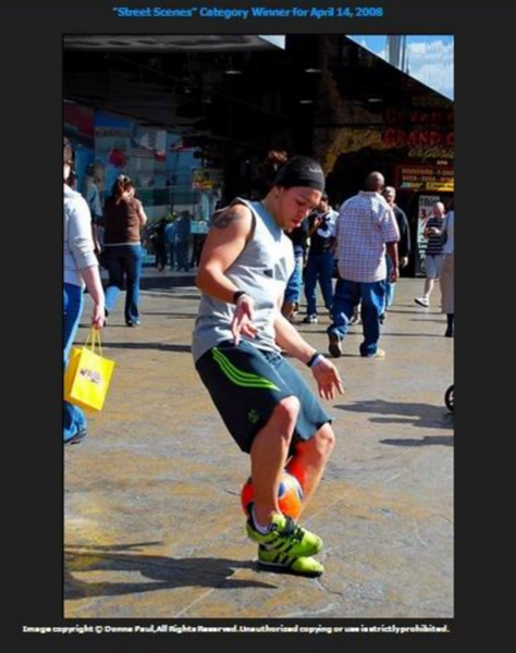 """""""FreestyleSocCerca"""" on the streets of Las Vegas"""