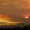 Smoky Sunset over Fountaingrove