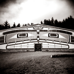 Big House, Alert Bay, BC. 2014.