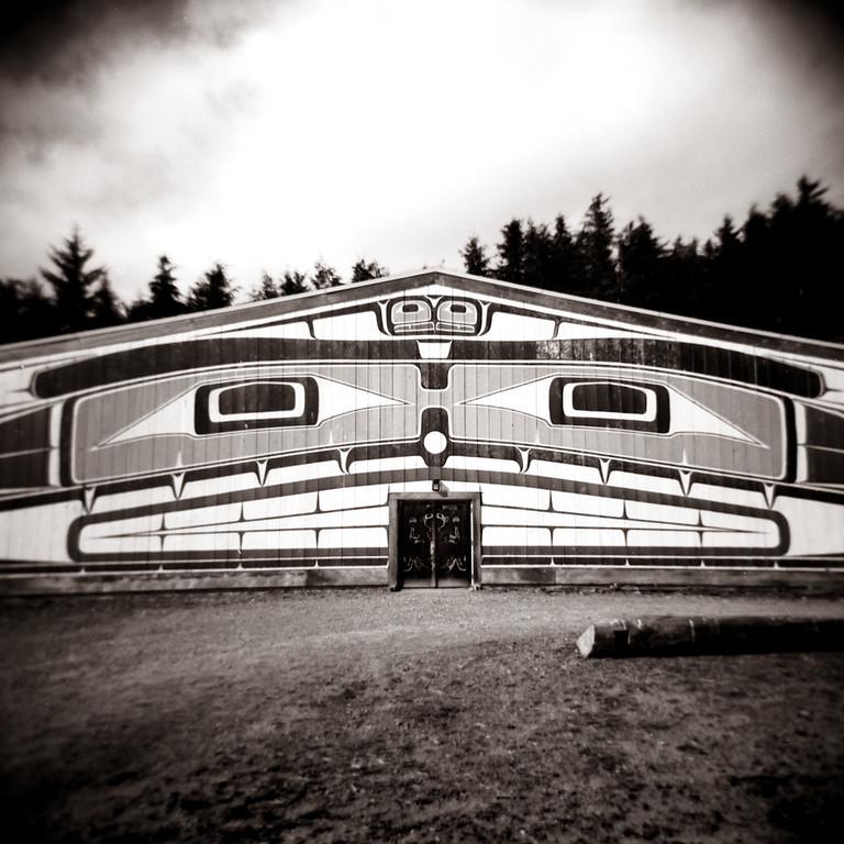Big House, Alert Bay, BC. 2014.
