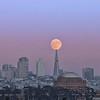 Harvest Moon over San Francisco