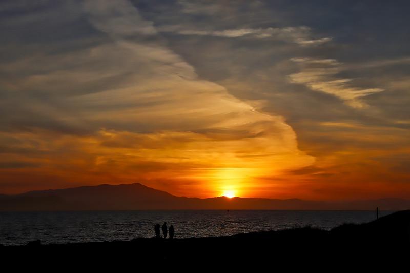 Sunset Mt. Tamalpais