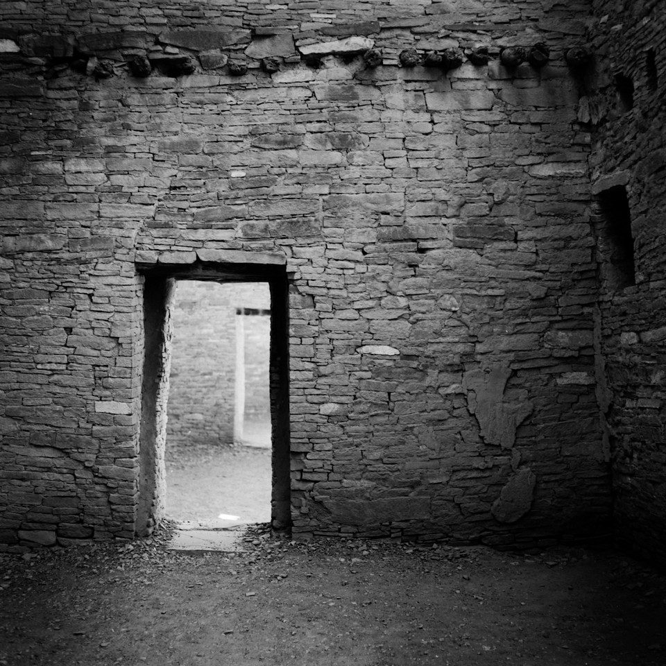 Doorway, Chaco Canyon, New Mexico. 1995.