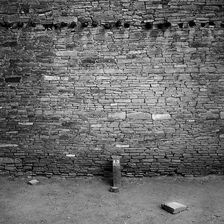 Wall#13, Chaco Canyon, New Mexico. 1995.