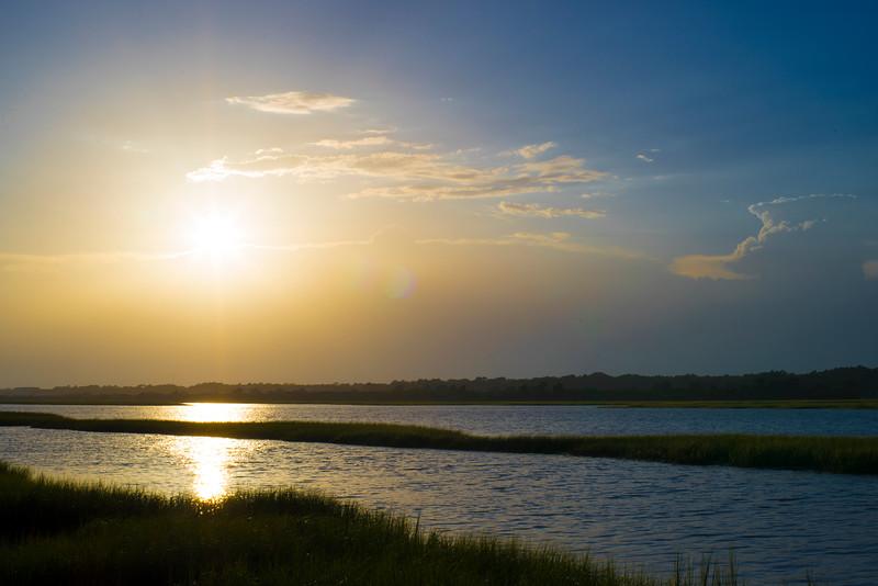 Sunset Marsh