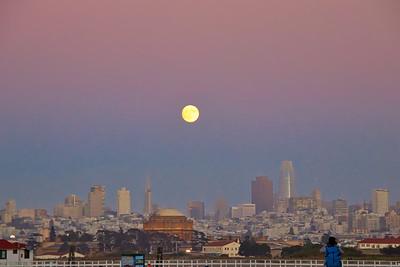 Moonrise San Francisco