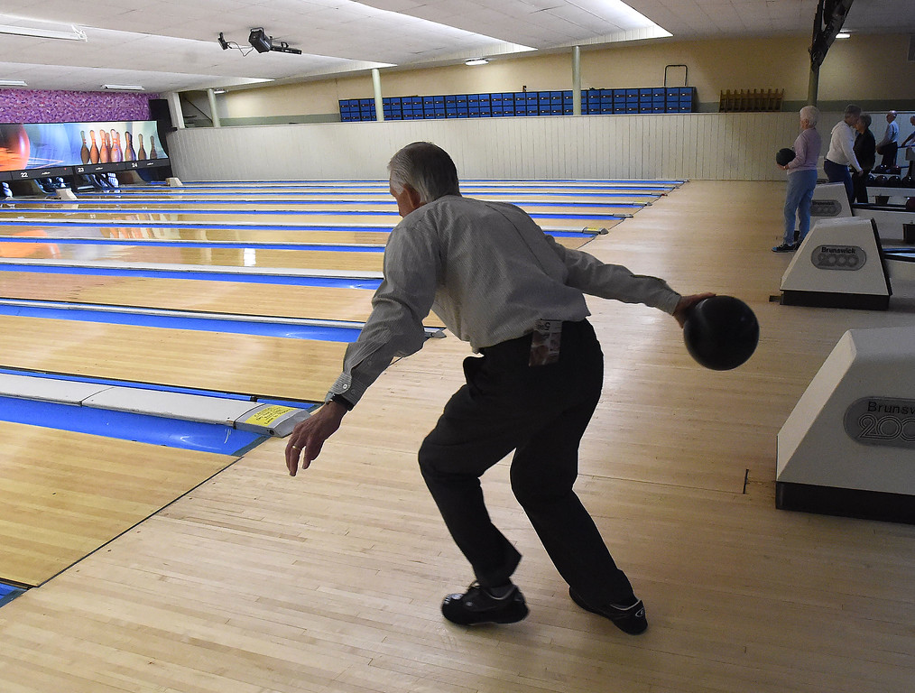. Groups that last for 58 years are strike a special spot, and so it is with the Early Bird League.  Started by bowlers at Devon Lanes, the league was formed when the alley first opened on Lancaster Ave. in 1959.  On Wednesday, Devon Lanes honored the morning league for the many years at the alley. DIGITAL FIRST MEDIA - PETE BANNAN