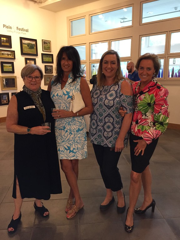 . Winning Ladies of Wayne -  Nancy Campbell, Executive Director of Wayne Art Center; Alicia Egar of Coco Blu Boutique, Deanna Doane, Vice President of Wayne Business Association; and Valerie Clark Roden of Hotaling Investment Management.