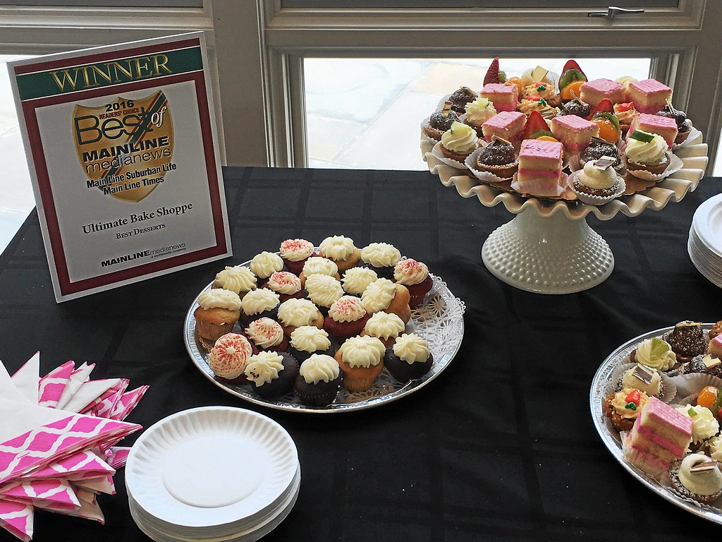 . A selection of pastries from the Ultimate Bake Shoppe in the Ardmore Farmers Market. The business was given the Best Desserts award.