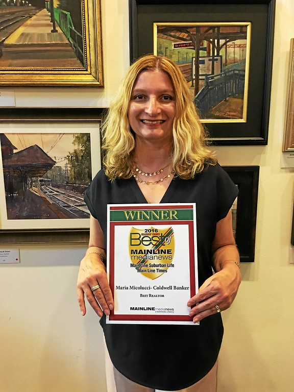 ". Maria Micolucci with Coldwell Banker Preferred earned ""Best Realtor.\"""