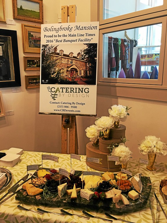 . Catering by Design selections for guests at the annual Best of Main Line Media News 2016 Readers Choice party at the Wayne Art Center June 15.