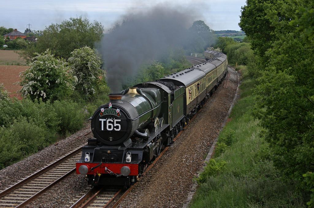6024, 16.42 Kingswear-Bristol Temple Meads, Torbay Express, Willand, near Tiverton, 30-5-10.