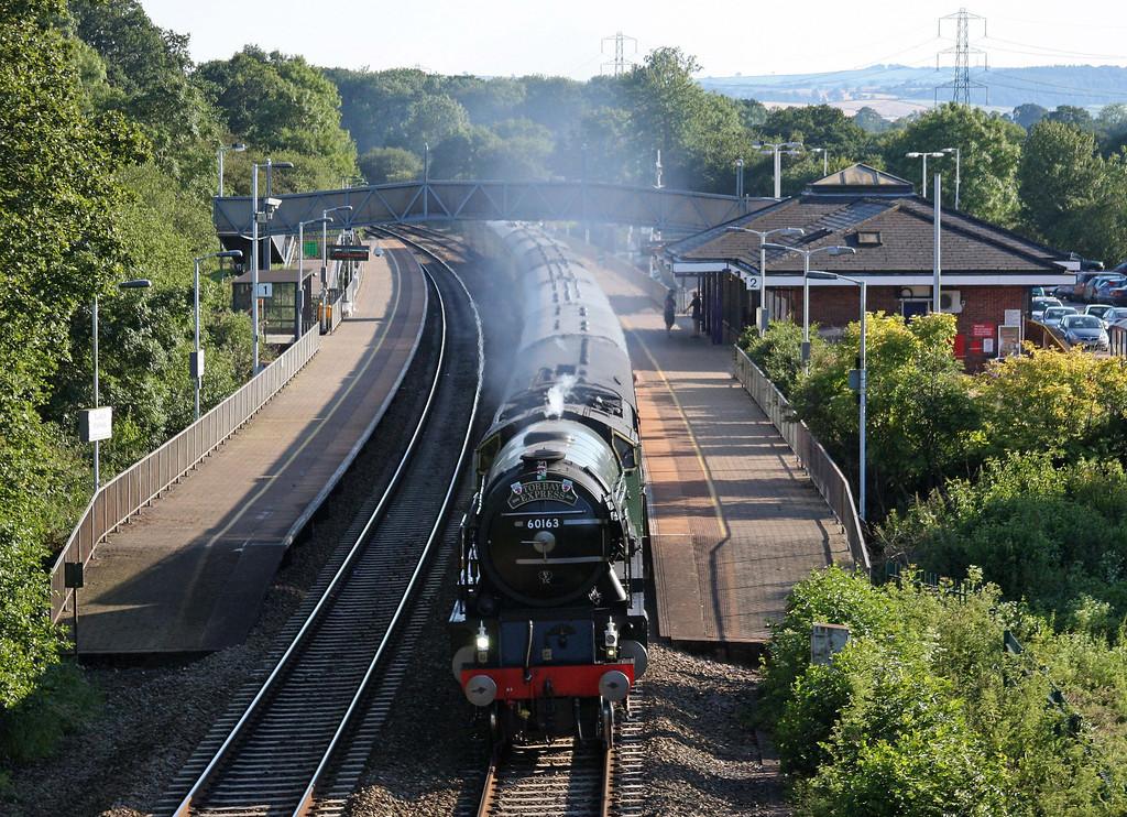 60163, 16.45 Kingswear-Bristol Temple Meads, Torbay Express, Tiverton Parkway, 3-7-11.