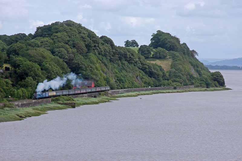 4492, 08.45 London Victoria-Cardiff Central, The Cathedrals Express, Gatcombe, near Lydney, 7-7-11.